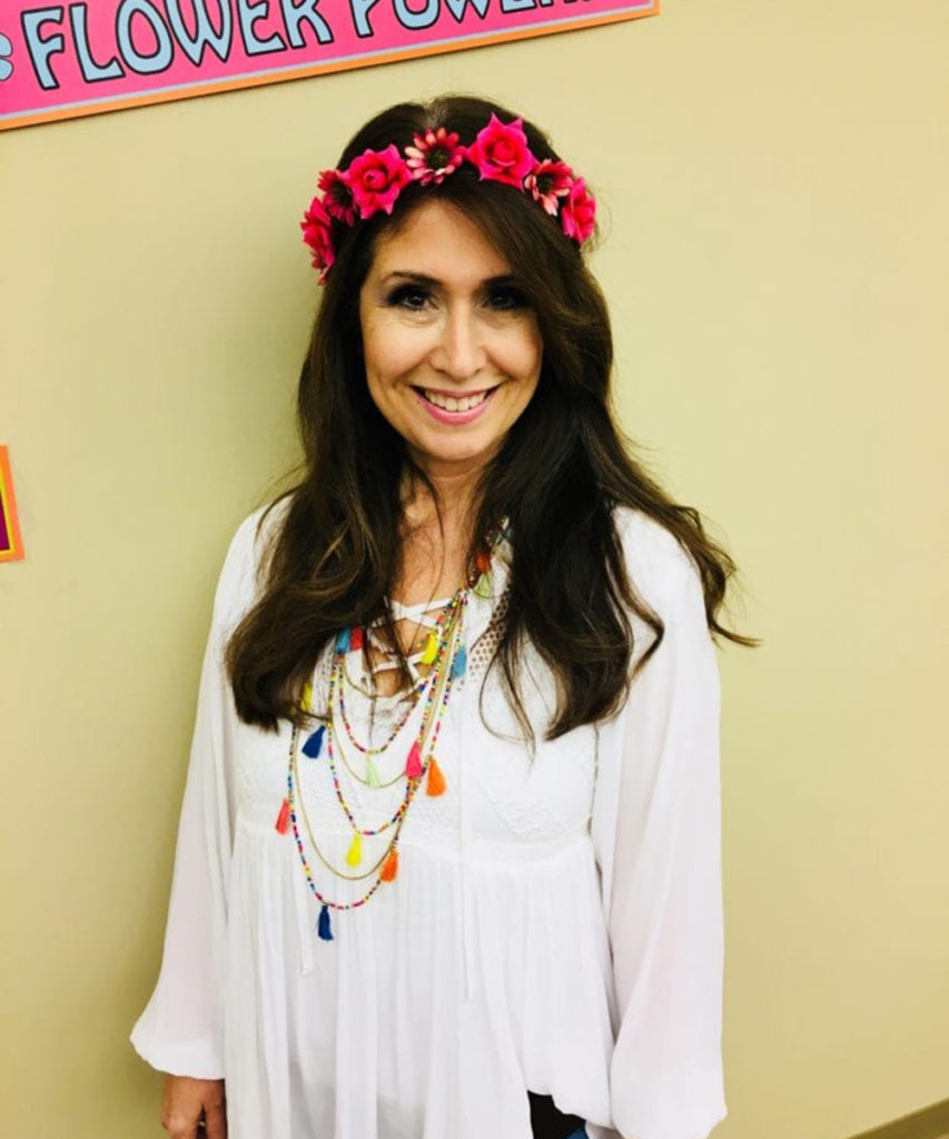 Gloria is our native California flower child!